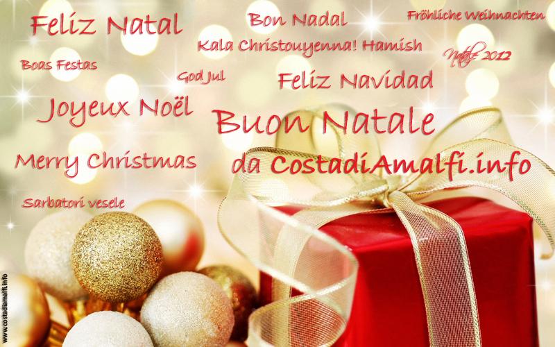 Tanti Cari Auguri Di Buon Natale.I Nostri Auguri Di Buon Natale 2012