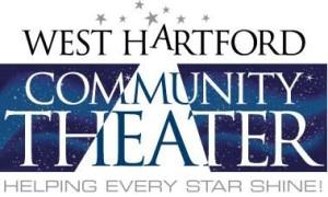 Il logo dell'associazione statunitense West Hartford Community Theater.