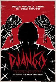 La locandina di Django, curata dal grafico italiano Federico Mancosu.