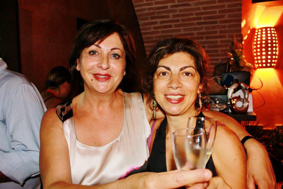 """La trattoria A' Ricetta è una trattoria al """"femminile"""". In foto: le ideatrici dell'iniziativa."""