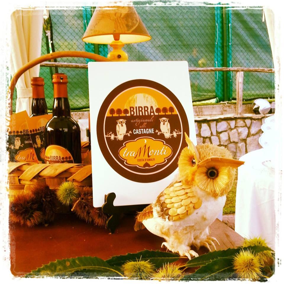 L'etichetta della Birra made in Tramonti a cura di Francesca Avella.